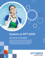 Careers Recruitment Brochure NTT DATA